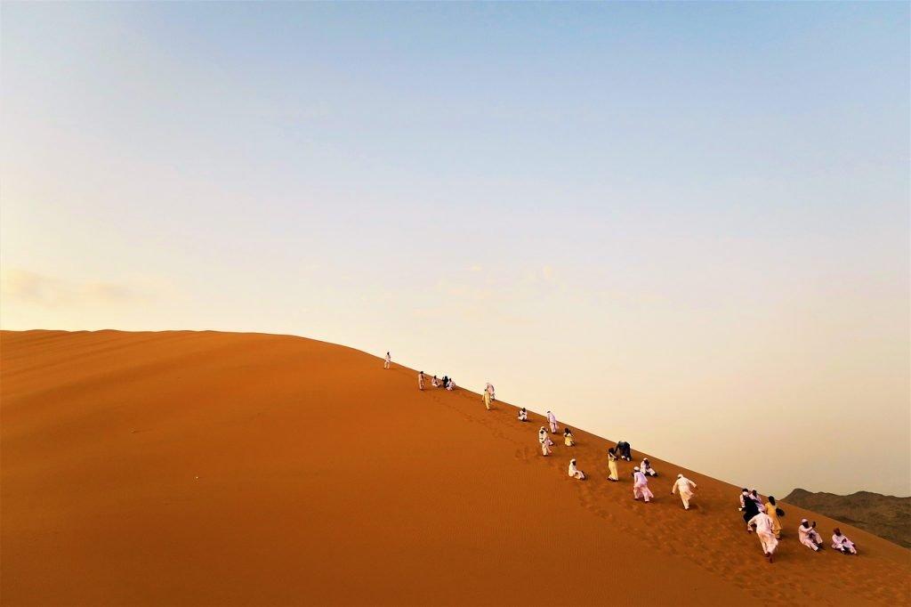 Las dunas de Erg-Chebbi son otro de los mejores lugares para visitar en Marruecos.
